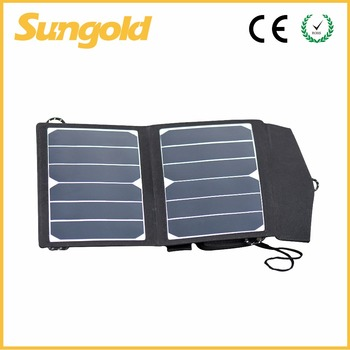 Sunpower mobile phone portable solar charger panel