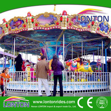 2015 new product China playground equipment rides carousel horse for sale