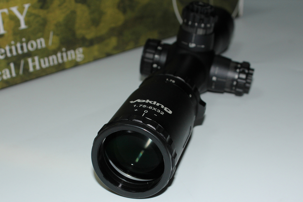 Voking 1.75-6X32IR fiber optic scope digital spotting scope riflescopes hunting