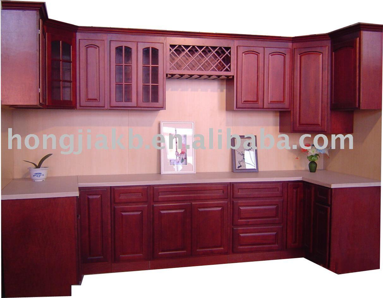 Armário de Cozinha Em Madeira de cerejeira Armários de cozinha ID do  #3F0E17 1212x942