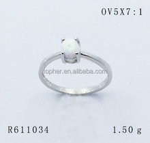 white color Oval 5X7mm opal Cabochon shape, Synthetic OV Cabs opal silver ring, Squar shape 6X6 opal stone price