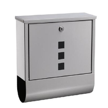 stainless steel metal mailboxes wall mounted letterbox