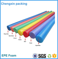 customized logo epe foam swimming noodles epe foam tube