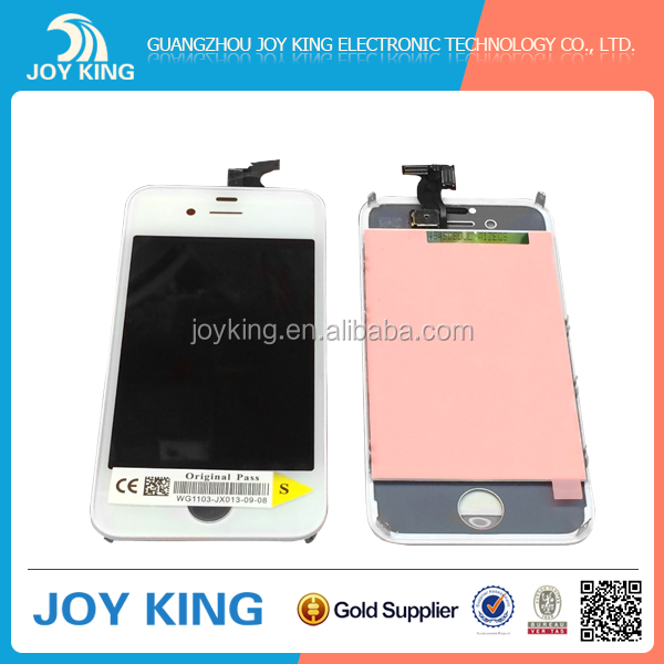 [JoyKing] Original lcd panel display for iphone 4s screen replacements best price guangzhou wholesale