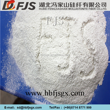 Wholesale High quality 325 mesh ceramic filler matellurgical slag Wollastonite powder