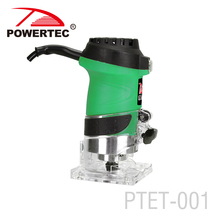 POWERTEC 600W power tools electric wood trimmer