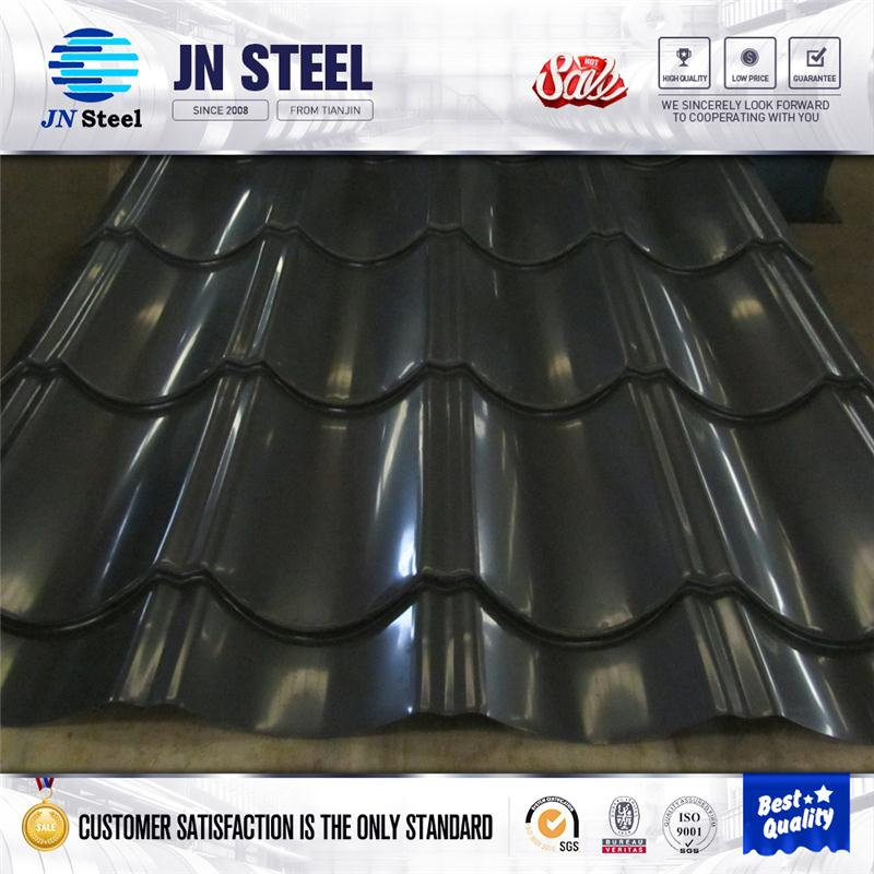 first grade promotion goods/copper colored metal roof corrugated steel sheet with low price