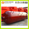 Vertical water tube wood gasification boiler
