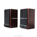 Latest Sales Classical Wooden Speaker ,Computer Speaker With Usb Input