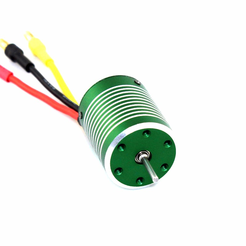 X-Team XTI-2430 4poles Mini Rc Car Sensorless Inrunner Brushless Motor for Rc 1/16 Truggy or 1/12 Buggy