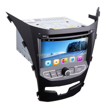 Rungrace Android 4.4 car multimedia system in dash autoradio for Korando C 1080p GPS 2013 - 2016