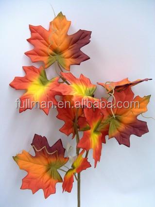 innendekoration Blätter h56cm herbst seide künstliche ahornblätter ...