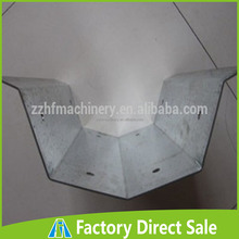 4m Length Galvanized and Alu Greenhouse Rain Gutter