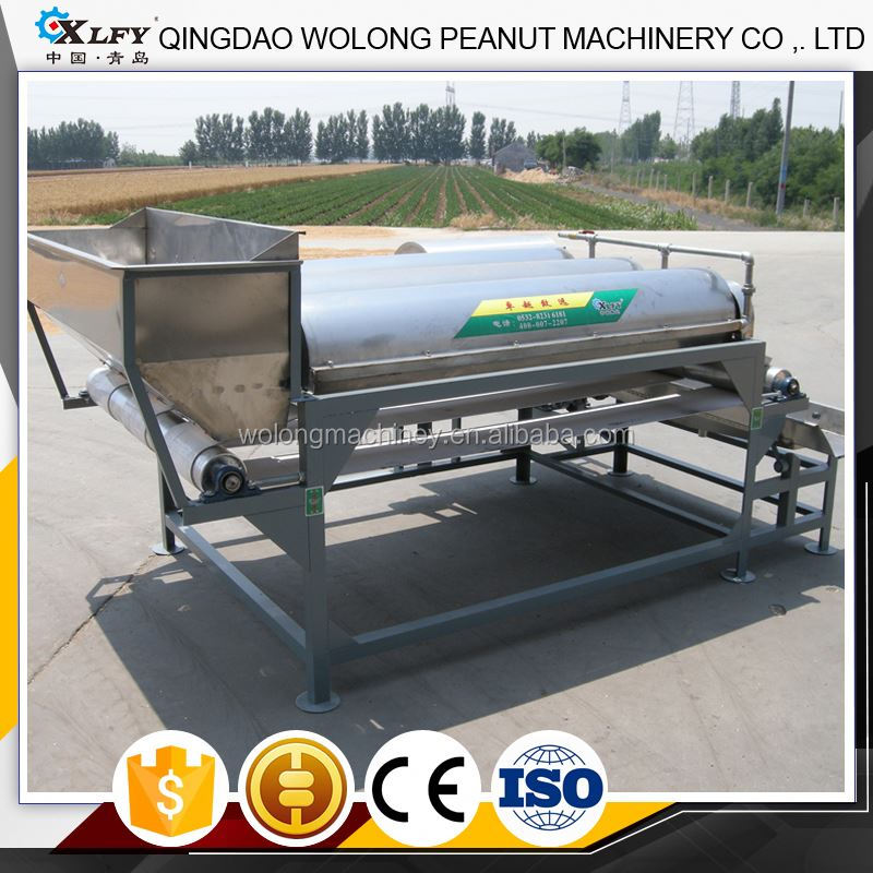 Automatic groundnut kernels peanuts cleaning washing machine