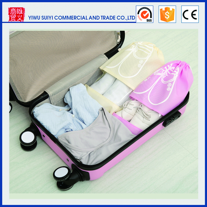 Wholesale environmental nonwoven fabric dust bags travel pouch Storage bag