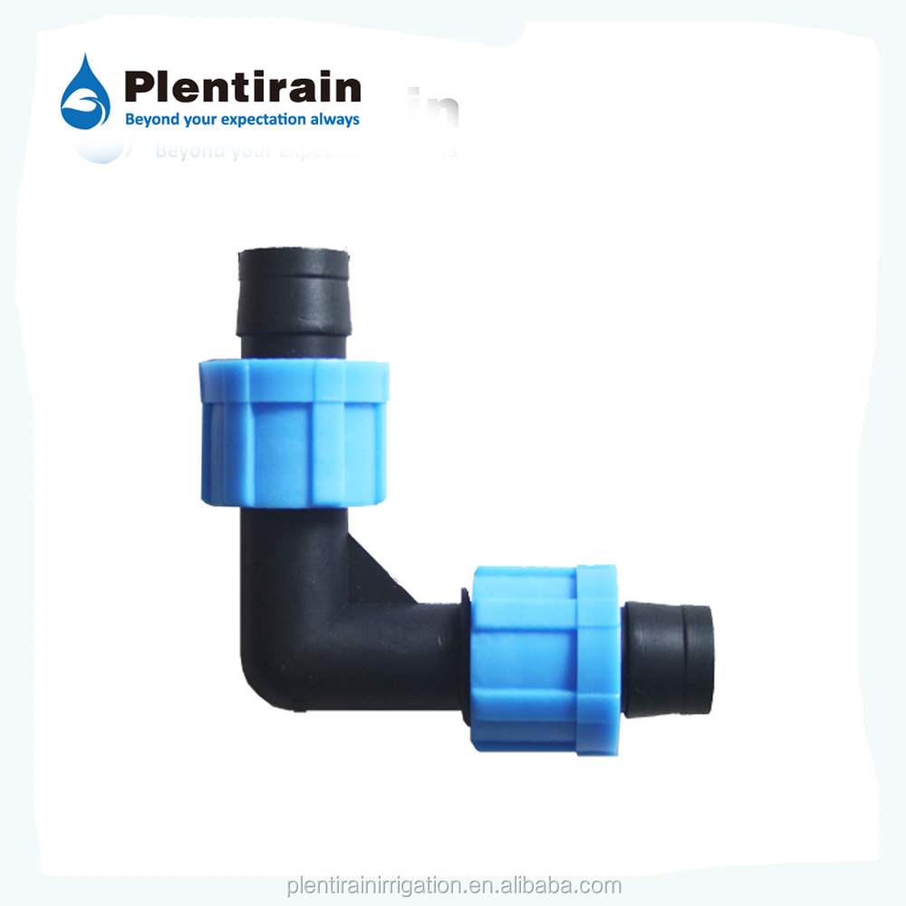 Home drip irrigation tape fittings barbed tee