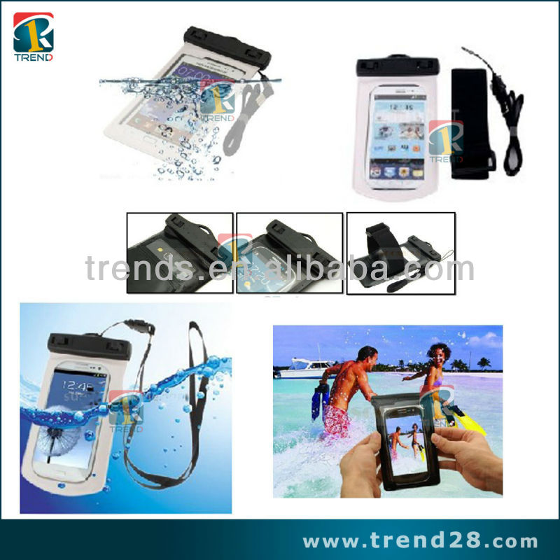 Hot selling Creative Mobile phone Waterproof Bag case for samsung s3 I9300