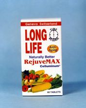 Long Life RejuveMAX Anti-Aging Formula from Geneva Switzerland