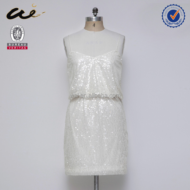 2016 pure white casual dress summer sexy dress