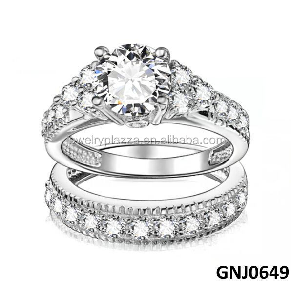 Fashion Design Engagement Ring, 925 Silver Ring, Diamond Ring