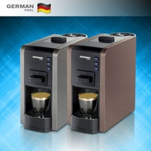 GermanPool Custom Design compact 1,100W Nespresso detachable Tank coffee maker machine for coffee shop