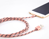 wholesale supply micro usb fabric nylon cable from big factory for xiaomi and other cellphone