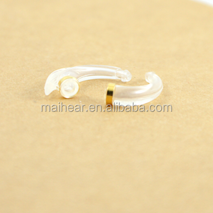 Hearing aid earhook wind-proof for BTE hearing aid