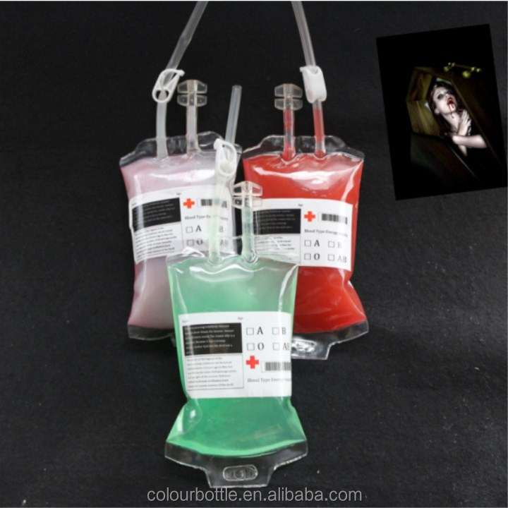factory supply packaging fashion design easy take away plastic disposable drinking bag