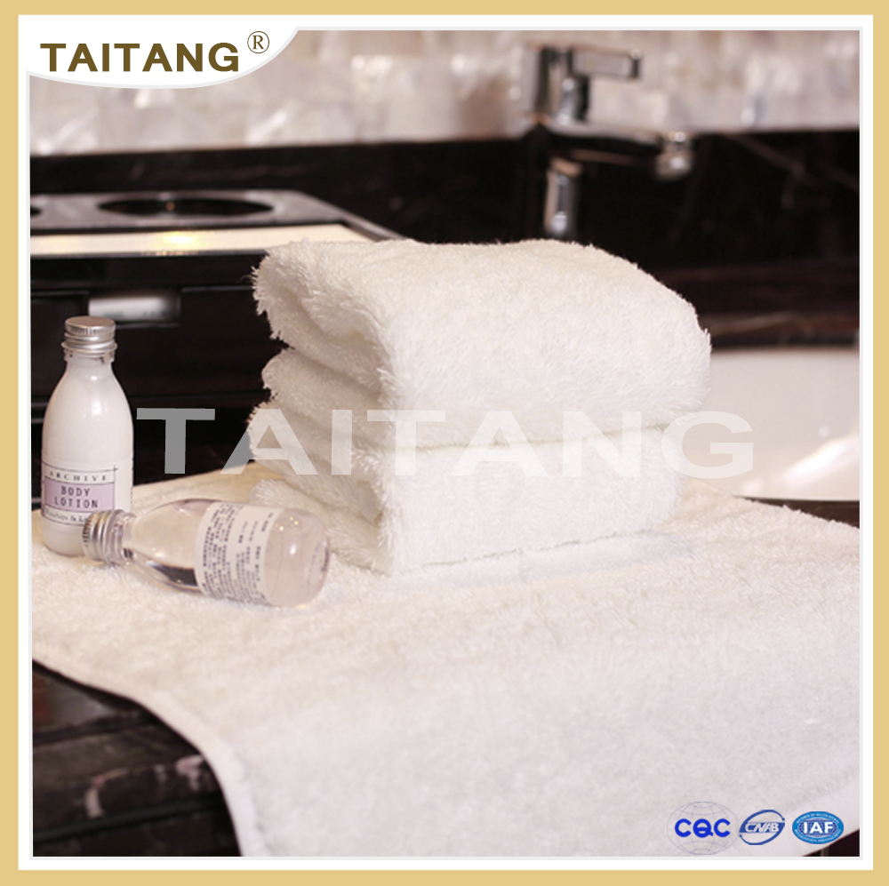 High quality wholesale super soft best sale 100% cotton terry white towel