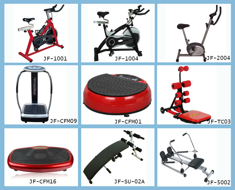 The Most Novel Crazy Fit Massage/Vibration Plate/Super Body Shaper Fitness Equipment