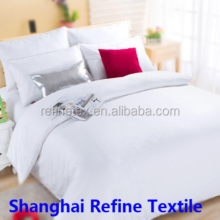 Cheap wholesale hotel bed sheet sets/ hotel bed linen on sale