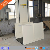 High strength material mini home lift elevator wheelchair lift table
