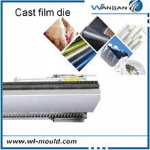 Food grade PVC cling film die ,PVC stretch film extrusion mould for food wrap extrusion dies plastic extrusion die mould