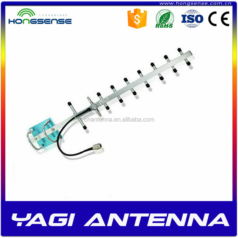 Gold Supplier yagi antenna with 145/435mhz v/uhf band 4g lte yagi antennas