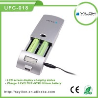switching power adapter and 12v 1a car cigaretter lighter adaptrt smart lithium ion battery charger