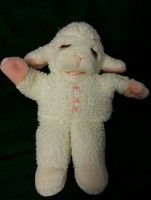 "13"" Lamb Chop Hand Puppet Plush Soft Toy Stuffed Animal"