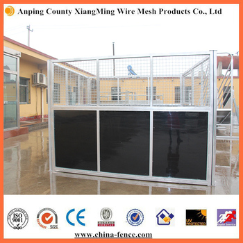 China Supplier Standard Horse Stalls Horse Stable Equipment stall powder coated hot dipped in black or brown