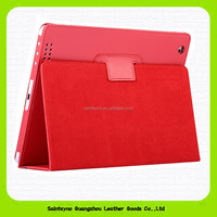 15042 Leather case for ipad air 2 case made by china factory