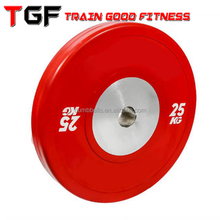 2018 hot sale!!! gym competition bumper plate for weight lifting