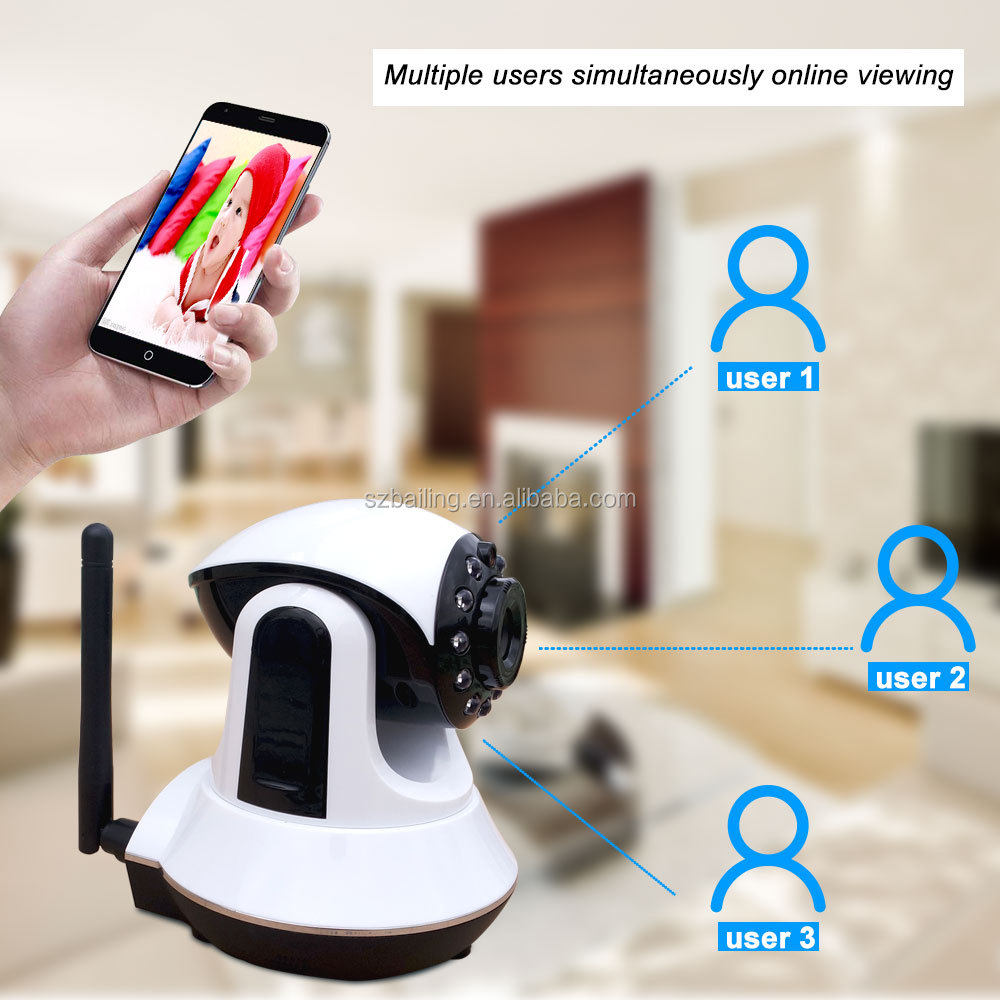 Wireless cmos 720P Baby Monitor wifi Camera HD home <strong>security</strong> p2p IP Camera