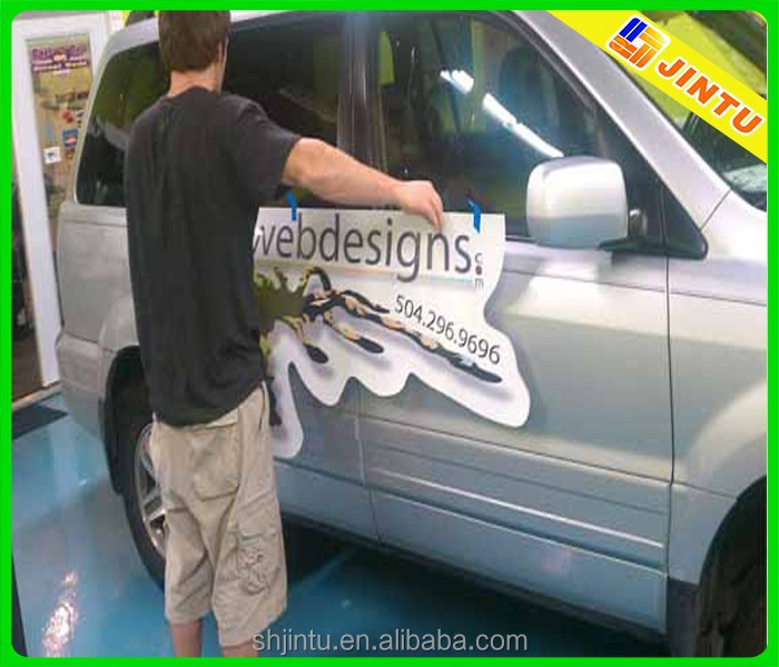 custom vehicle graphics magnetic sign sticker