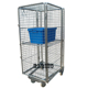 Cold-rolled steel folding Security roll container cage