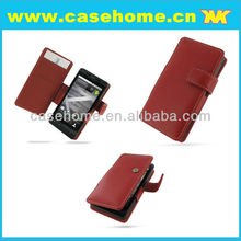 PU leather case for Droid X MOTO MB810 ME811
