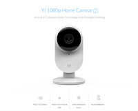 Yi Smart 1080P FHD Camera 2 Home security mini Webcam wifi wireless cctv cam Night Vision Edition Android IOS CMOS