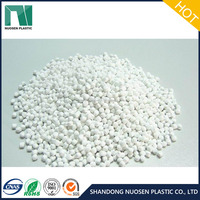 White Color Caco3 Compound Filler Masterbatch White Caco3 Filler Masterbatch