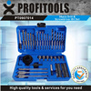 56pcs portable drilling tool combo kit with hard storage case