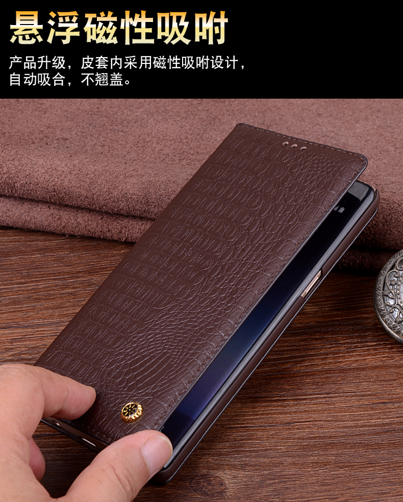 LS02 Magnetic Real Leather Flip Case For Samsung Galaxy Note 9 Phone Case For Samsung Galaxy Note 9 Flip Cover Free Shipping