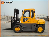 7 ton FD70T automatic diesel forklift with Isuzu enginee with cabin