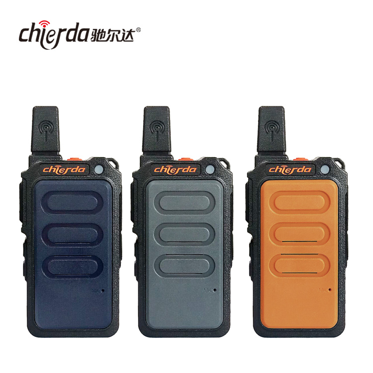 New mini woki toki Chierda 2019 small two way radio uhf walkie talkie