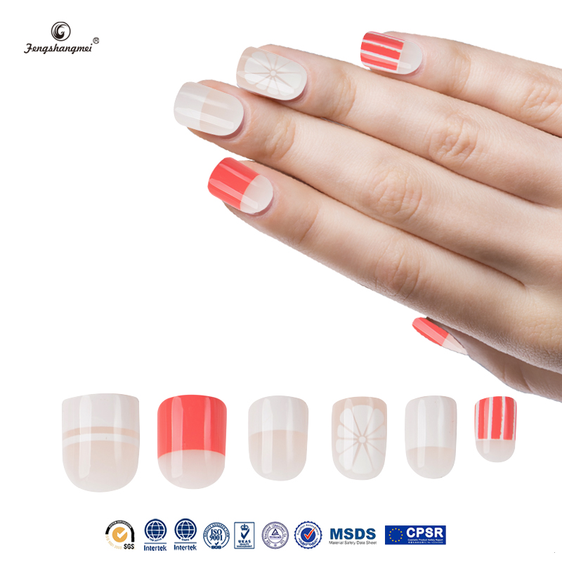 fengshangmei nail art fake nails high quality popular 2016 hot sell nail art tips and ideas